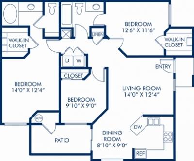 Floor Plans at Mirasol Apartments