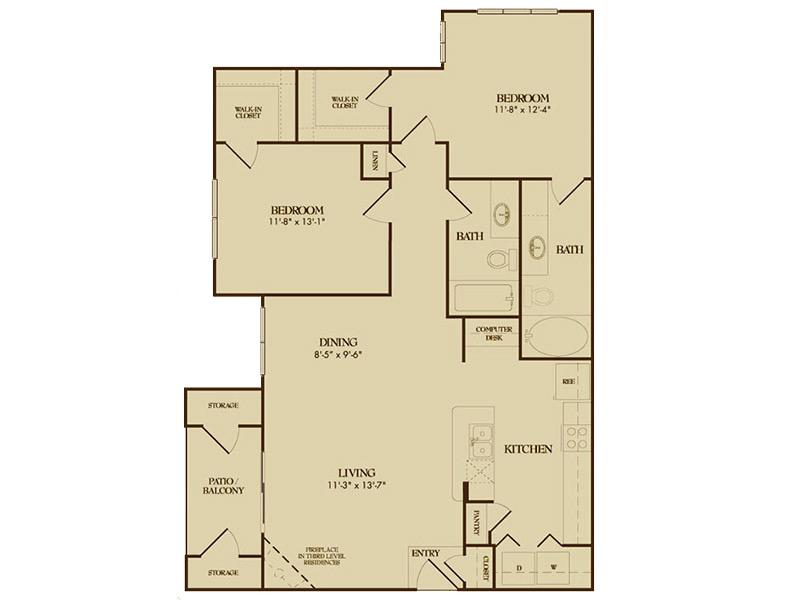 Floor Plans at Montecito Pointe Apartments