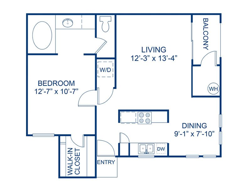 Floor Plans at Bloom Apartments