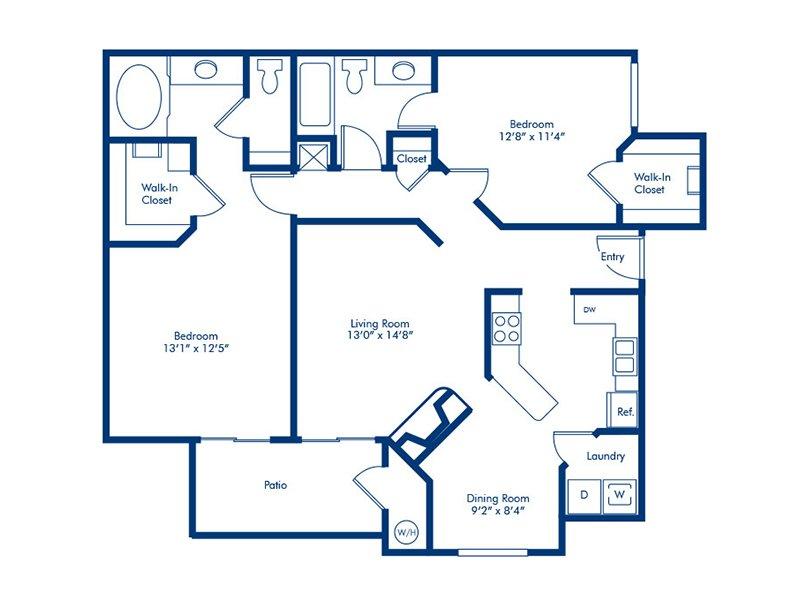 Floor Plans at Torreyana Apartments