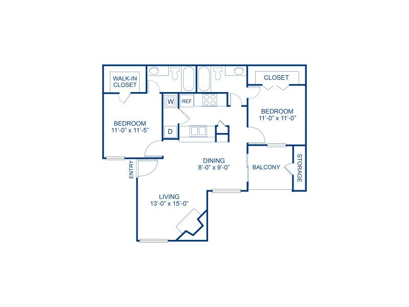Floor Plans at Bella Solara Apartments