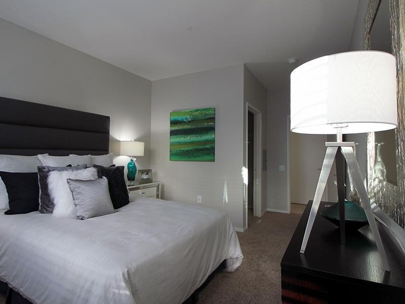 Bed Room with Bath Room - Bridgecourt Apartments