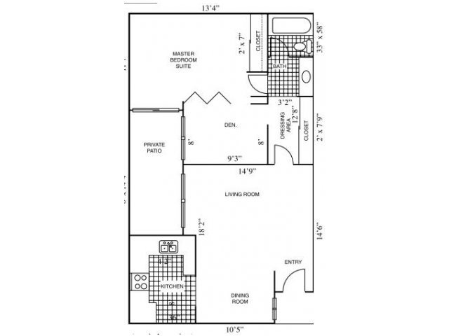 Floor Plans at Horizon Apartments