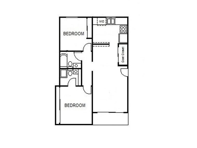 Floor Plans at The Square Apartments