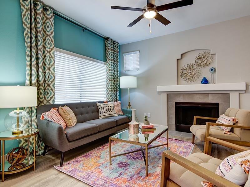 Living Room - Apartments in Phoenix  apartment