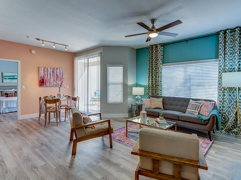Living Room - Model apartment
