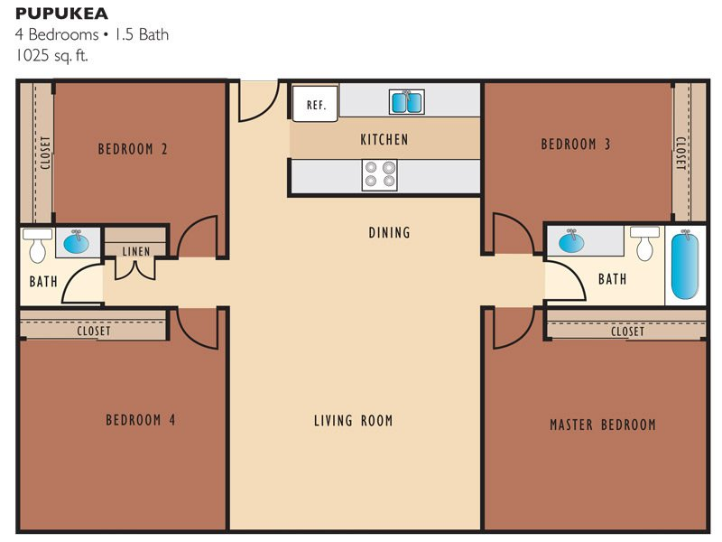 Pupukea Apartments in Wahiawa, HI